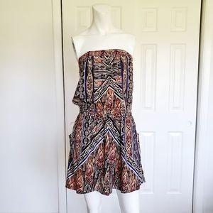 Angie strapless dress sz. Large